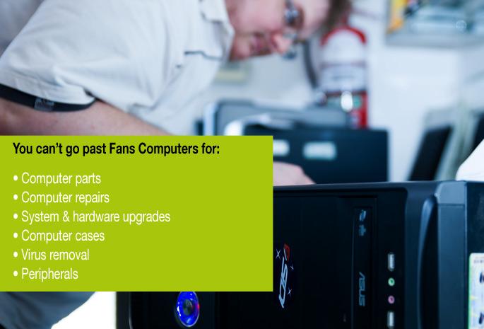 Fans Computers - Campbelltown